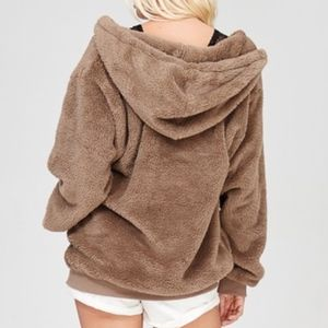 94% off Angelique's Atelier Tops - Fluffy Pullover Hoodie from ...